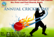 Annual Cricket Day